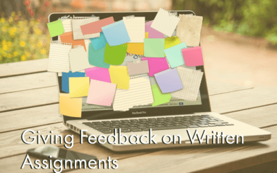 Giving Feedback on Written Assignments (Self-Paced)