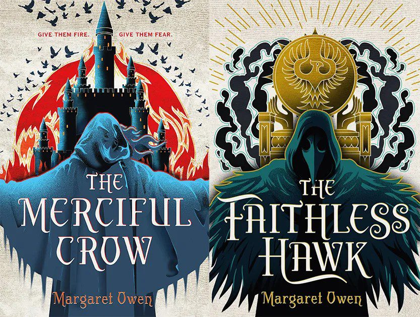 Cover of The Merciful Crow and The Faithless Hawk