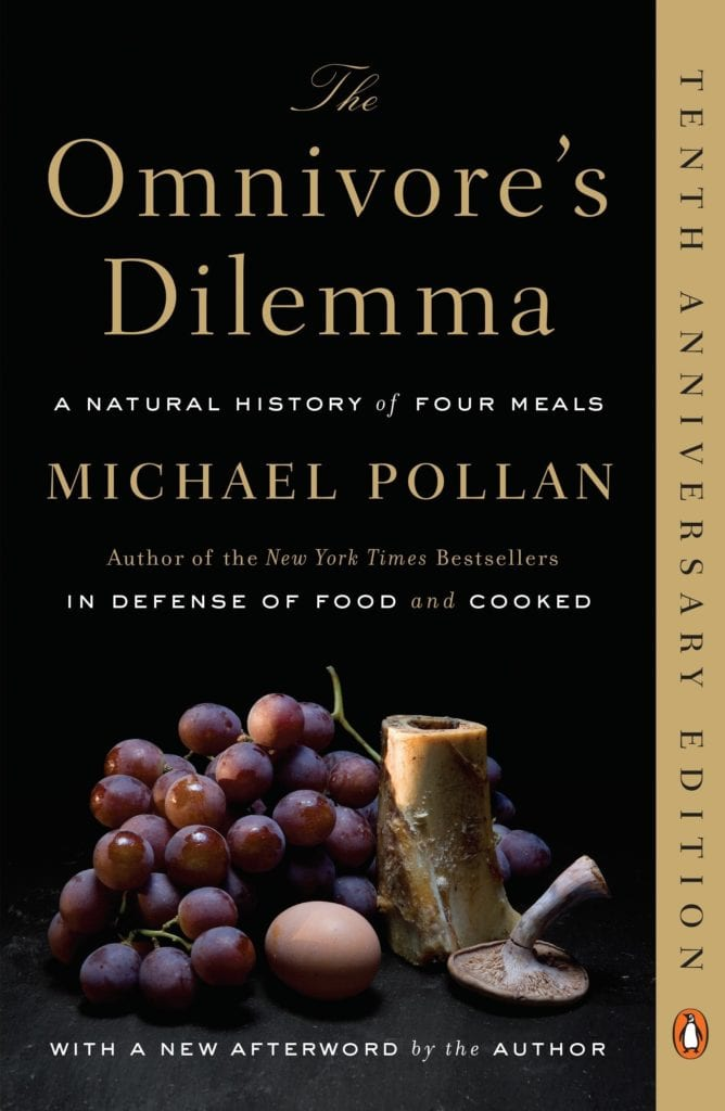 Book cover of The Omnivore's Dilemma